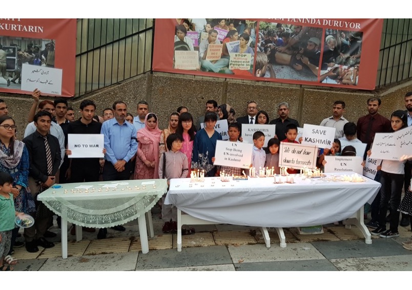 Turkey's strong support for Kashmir reaffirmed at vigil observing 15th August as 'Black Day'