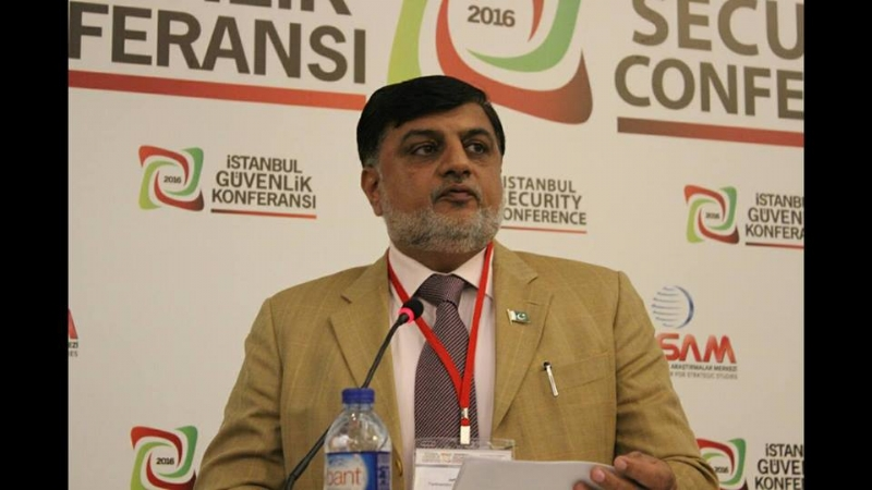 Pakistan shares its perspective on security at Istanbul conference