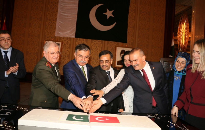 """Pakistan Day"" reception held in Ankara, celebrating the abiding  Pakistan-Turkey relationship"