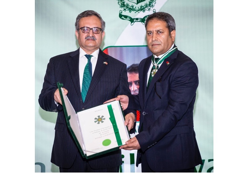 Pakistan's Civil Awards conferred upon leading Turkish personalities at Investiture Ceremony in Ankara