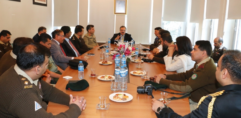 NDU delegation visits Turkey