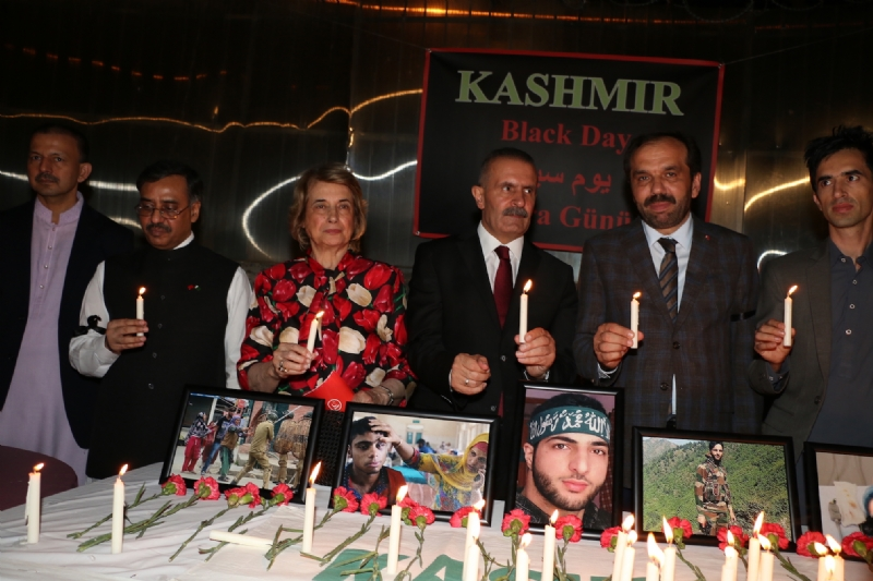 Turkey's strong support for Kashmir reaffirmed at vigil commemorating Kashmiri martyrs and observing 'Black Day'