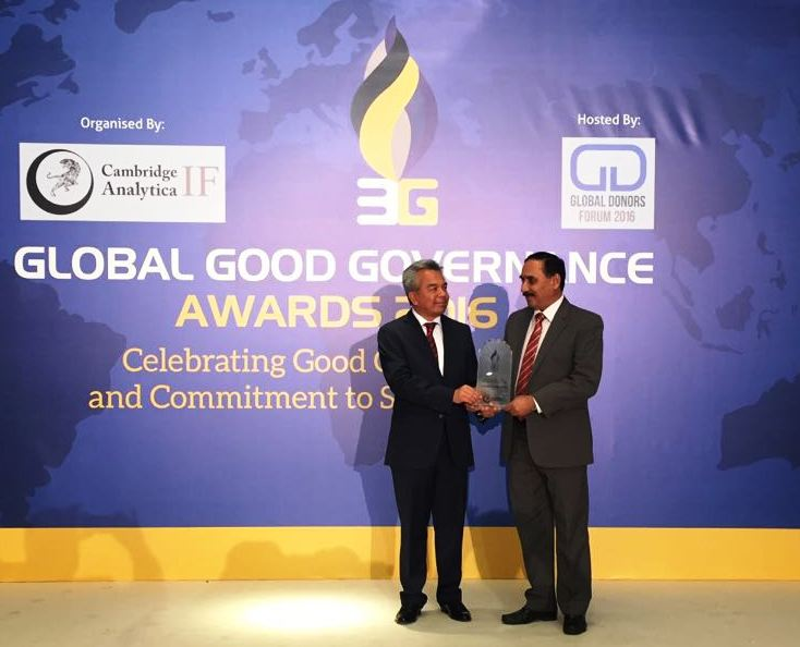 Pakistani philanthropist receives award at Global Donors Forum in Istanbul