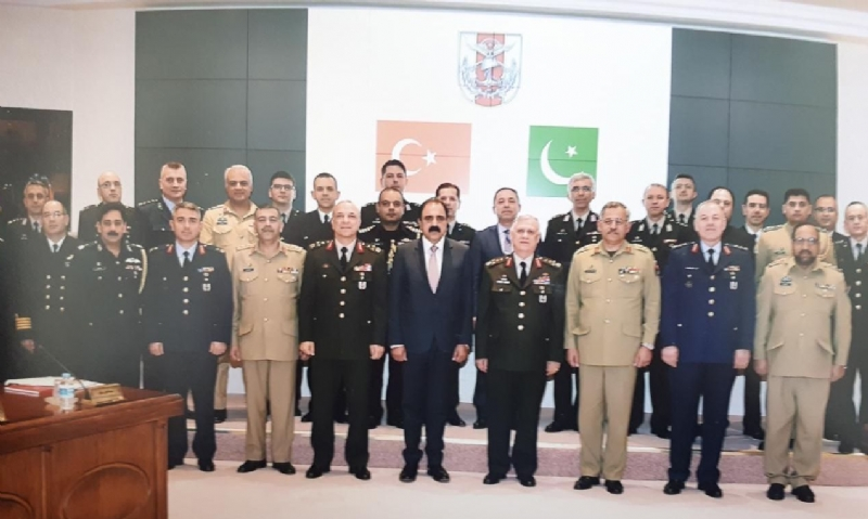 13th meeting of Pakistan-Turkey High Level Military Dialogue Group held in Ankara