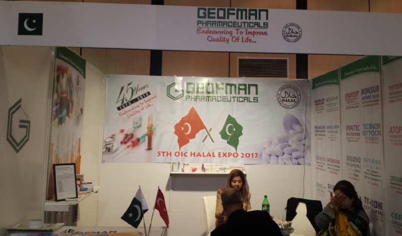 Leading Pakistani companies participates in the 5th OIC Halal Expo / World Halal Summit, Istanbul