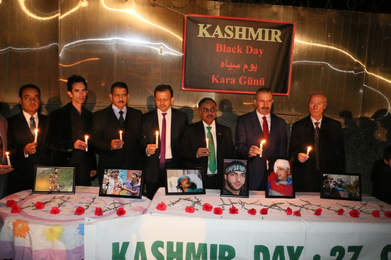 "Event at Pakistan Embassy Ankara marks ""Black Day"""