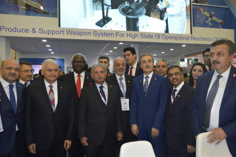 Minister for Defence Production Rana Tanveer Participates in Turkey's Defence Fair IDEF 2017