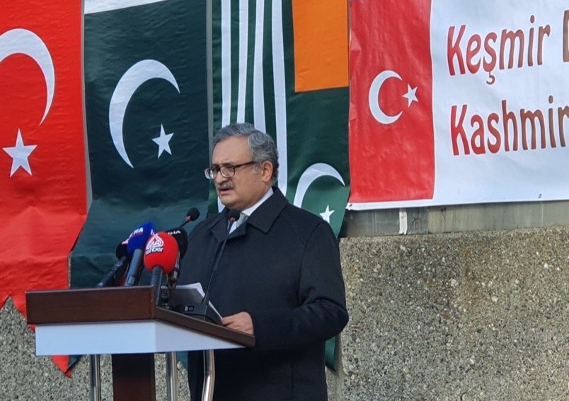 Turkish support for the oppressed Kashmiris reiterated at Kashmir Solidarity Day event in Ankara