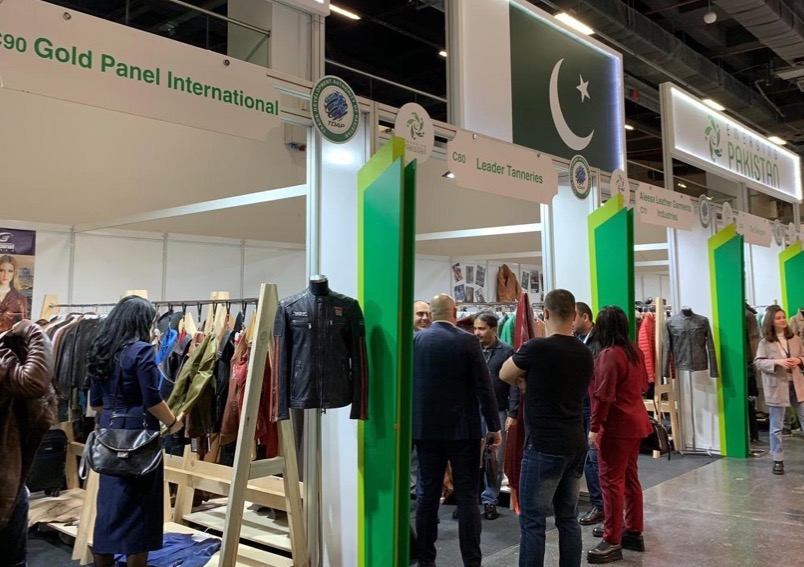 Pakistan's premier leather products showcased at a leading trade fair in Istanbul
