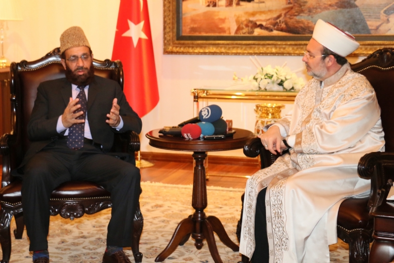 Pakistan's Religious Affairs Minister meets Turkish counterpart; both sides reaffirm commitment to intensify mutual cooperation