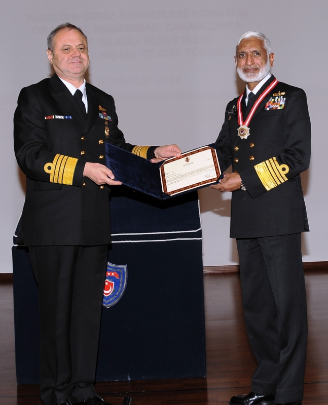 Chief of Naval Staff of Pakistan visits Turkey