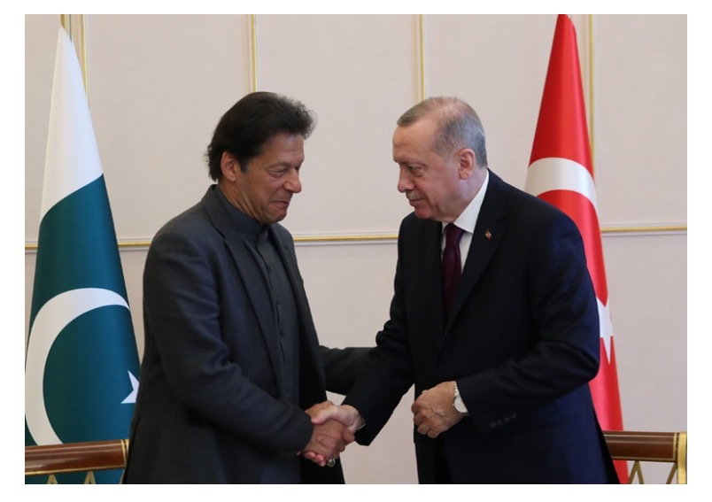 Pakistan Prime Minister's meeting with Turkish President on the sidelines of Global Refugee Forum 17-18 December 2019 in Geneva