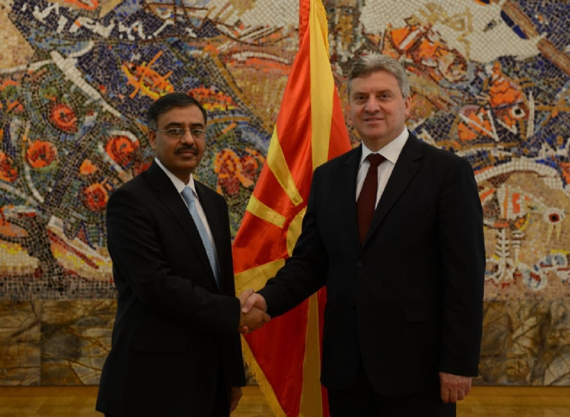 Pakistan-Macedonia relations to be comprehensively upgraded, says Ambassador Sohail Mahmood as he presents Credentials