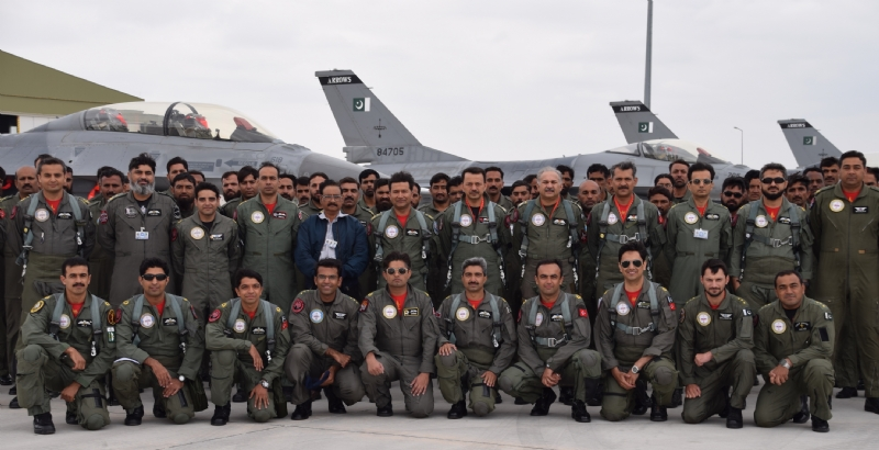 Strong Pakistani participation in the multinational Anatolian Eagle air exercise