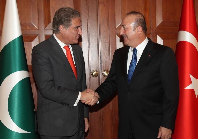 Pakistan Foreign Minister's Telephone Conversation with Foreign Minister of Turkey