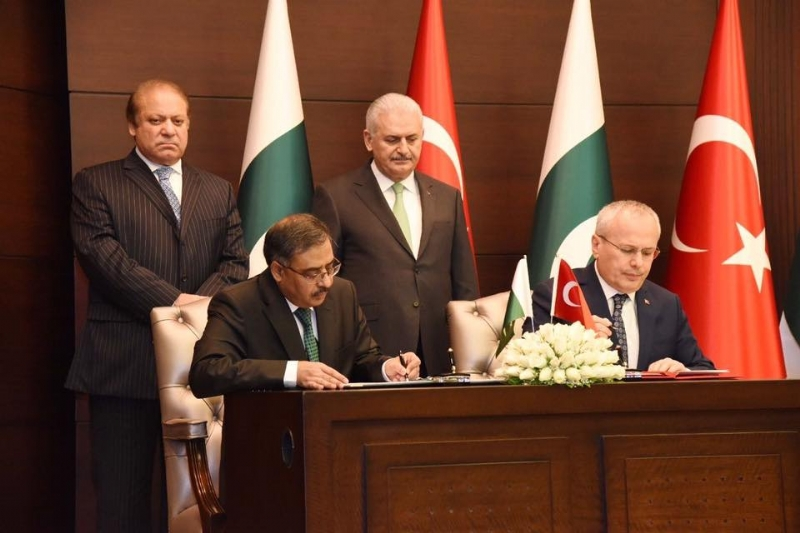 Declaration/MOUs/Agreements singed at the conclusion of the 5th Meeting of Pakistan-Turkey High Level Strategic Cooperation Council (HLSCC), held on 23 February 2017 at Ankara