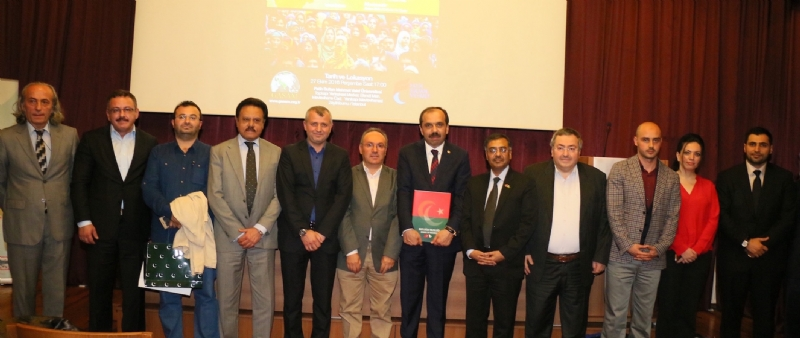 Grave situation in Occupied Kashmir highlighted at Istanbul Seminars,                 Turkey's support reaffirmed