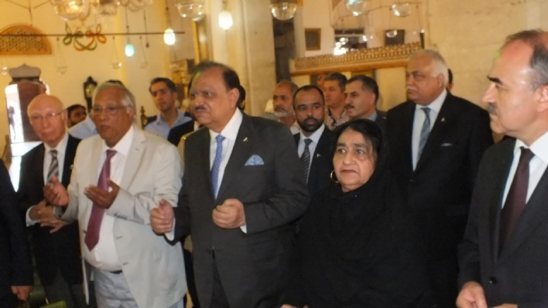 President of Pakistan visits Konya