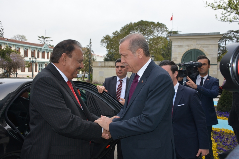President of Pakistan Concludes Turkey Visit