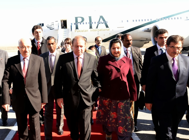 Prime Minister of Pakistan arrives in Turkey
