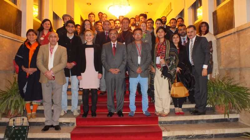 """Turkey-Pakistan Youth Bridge"" Participants visit Pakistan Embassy"