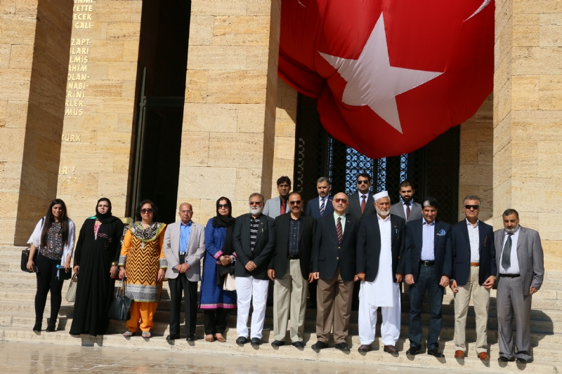 Pakistan Parliamentary Solidarity delegation in Turkey