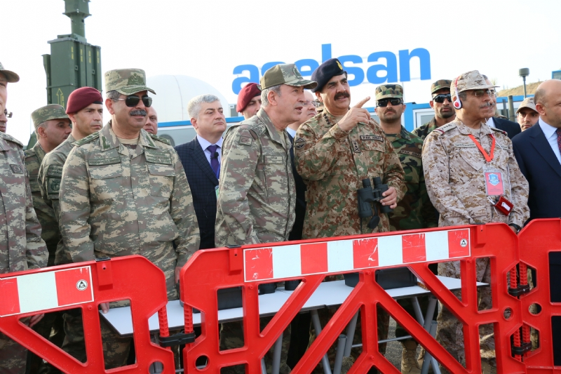 Chief of Army Staff of Pakistan visits Turkey, witnesses Efes 2016