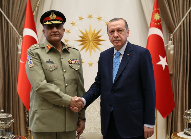 Chief of Army Staff of Pakistan visits Turkey