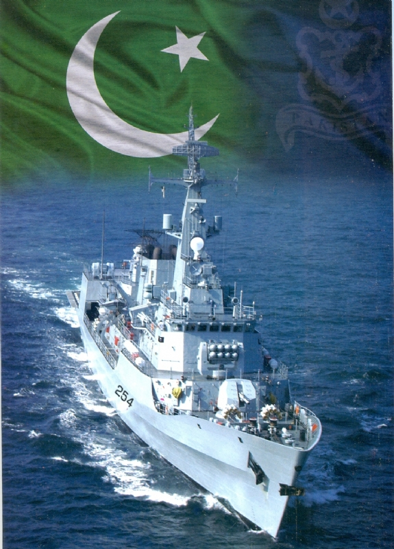 PAKISTAN'S FIRST INDEGENOUSLY BUILT FRIGATE TO VISIT TURISH NAVAL BASE
