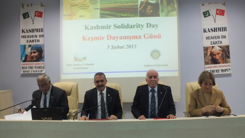 Unwavering Turkish support for the oppressed people of Kashmir