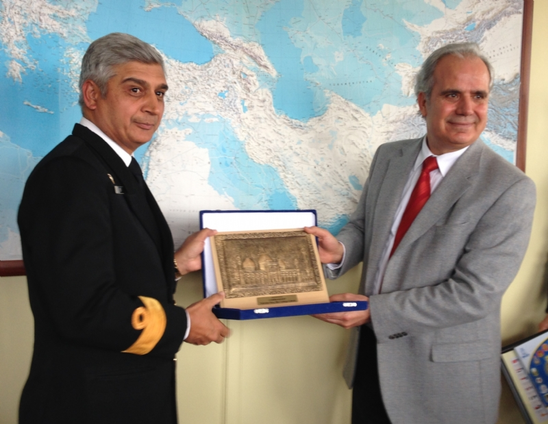 PAKISTAN NAVY WAR COLLEGE DELEGATION VISITS TURKEY