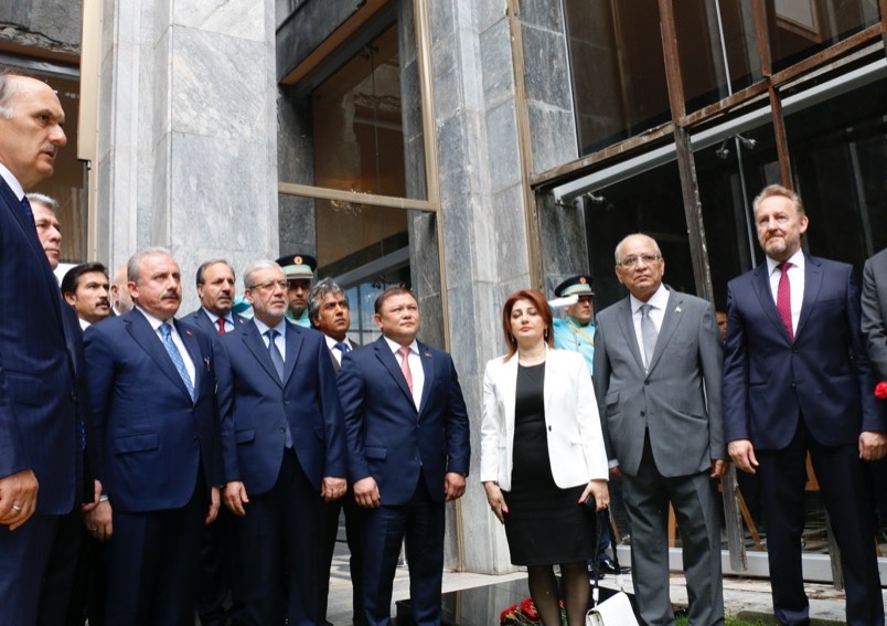 Pakistani Parliamentary delegation participates in the Democracy and National Unity Day event in Ankara; re-affirms Pakistan's solidarity with Turkey