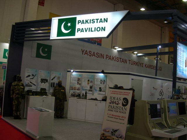 Pakistan Pavilion at IDEF 2011 Istanbul attracts visitors