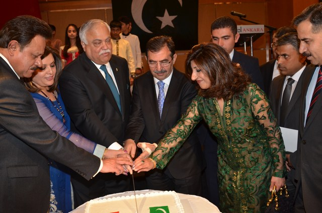 Messages of Turkey-Pakistan Friendship at Pakistan Day Reception