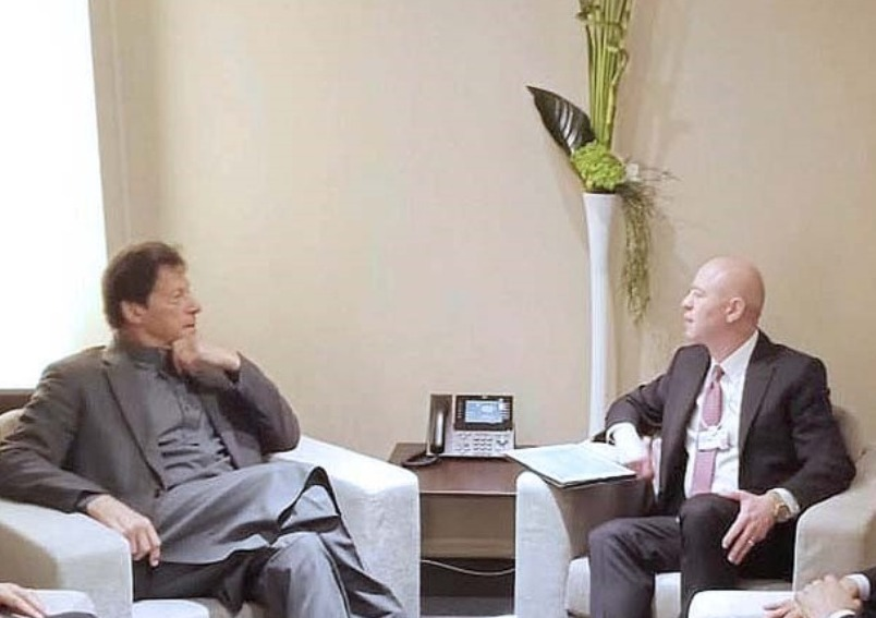 CEO Koç Holding called on Pakistan Prime Minister Imran Khan at Davos, on the sidelines of WEF Annual Meeting 2020