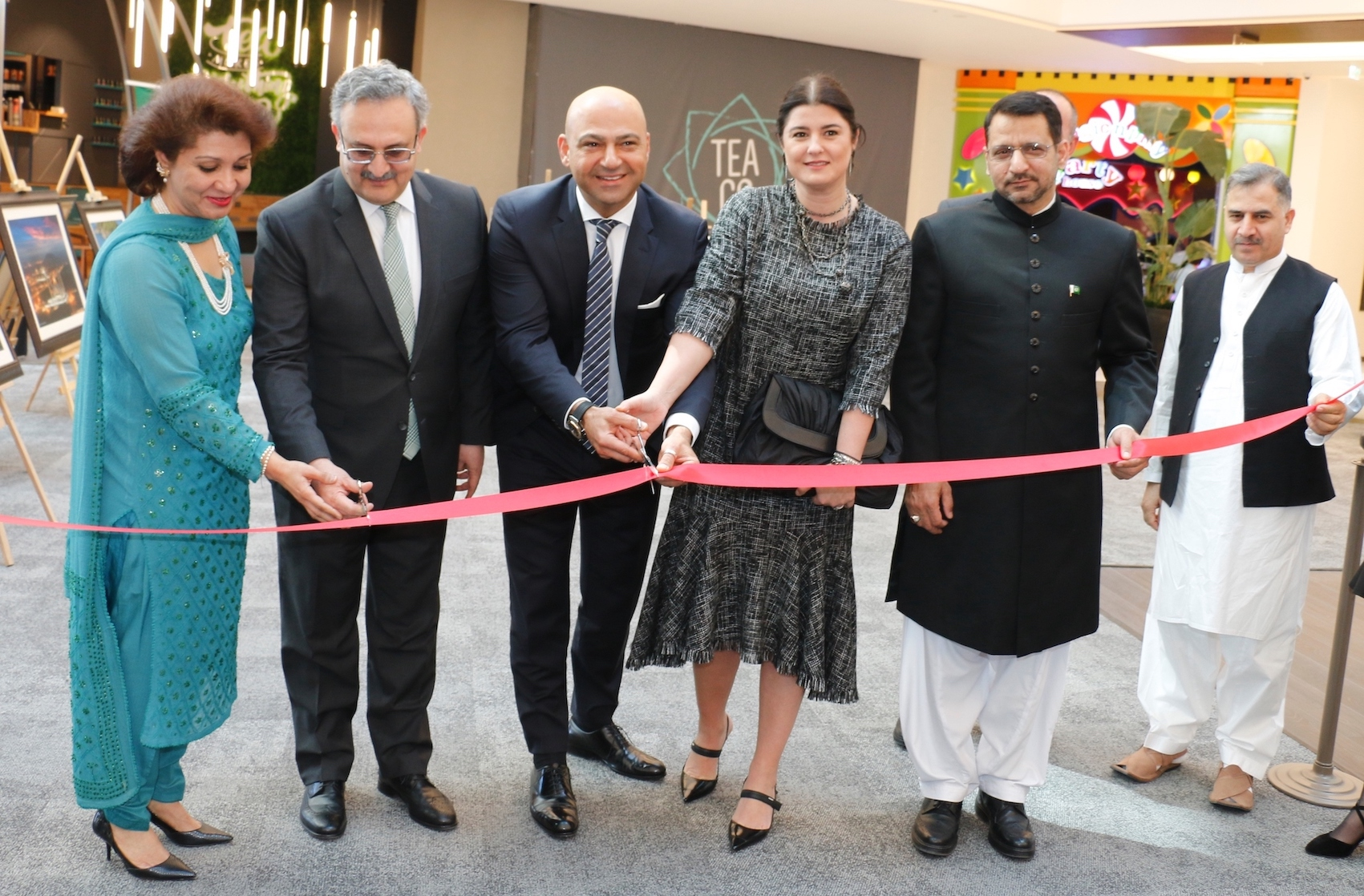 Inauguration of Colours of Pakistan photography exhibition at Atakule AVM on 23 March 2019